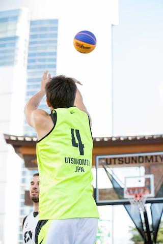 4 Maniwa Josei (JPN) - Ljubljana v Utsunomiya, 2016 WT Utsunomiya, Pool, 30 July 2016