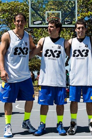 Paysandu (Uruguay) 2013 FIBA 3x3 World Tour Rio de Janeiro