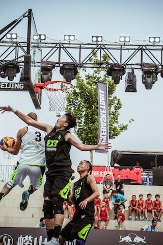 3 Dusan Domovic Bulut (UAE) - 6 Shao Hua Guo (CHN) - Novi Sad AlWahda v Zheng Zhou, 2016 WT Beijing, Pool, 16 September 2016