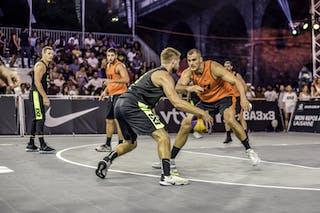 5 Janis Antrops (LAT) - 4 Rihards Zēbergs (LAT) - 14 Dejan Pejić (SRB) - 6 Nikola Vukovic (SRB)