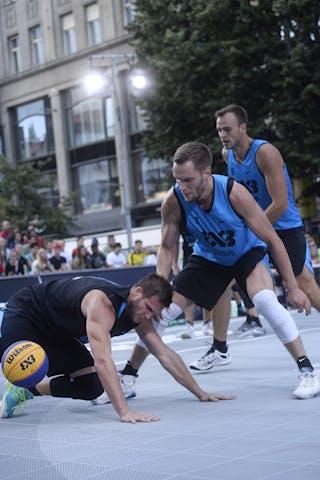 Vilnius v Ostrava, 2016 WT Prague, Pool, 6 August 2016
