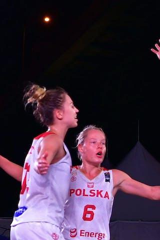 13 Klaudia Sosnowska (POL) - 7 Agnieszka Szott-hejmej (POL) - 6 Martyna Cebulska (POL)