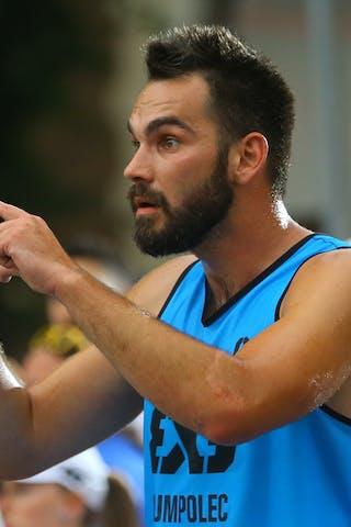 6 Roman Zachrla (CZE) -Humpolec vs Hamamatsu FIBA 3x3 Saskatoon 2017 (Can)