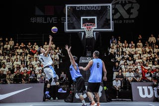 5 Tao Liu (CHN) - 5 Ding Chen (CHN) - 3 Zhiyang Zhang (CHN)