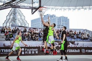 5 Aleksandar Ratkov (SRB) - 4 Wang Jiayi (CHN)