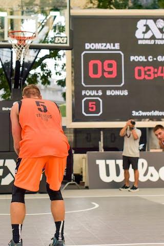 Darius TARVYDAS (Team Vilnius), 2015 WT Lausanne, Pool, 28 August 2015