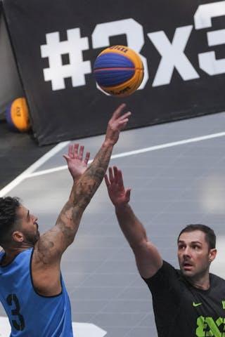 4 Jasmin Hercegovac (SLO) - 3 Frederico Santos (BRA)