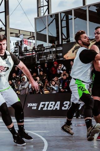 3 Bogdan Dragovic (SRB) - 1 Damon Huffman (USA) - 2 Robbie Hummel (USA)