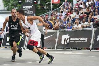 1 Damon Huffman (USA) - 2 Gilles Martin (SUI)