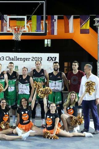 (Lipik Challenger 2019), price ceremony 1st place Vrbas 2nd place Kranj 3rd place Novi Sad 4th place Ventspils Ghetto