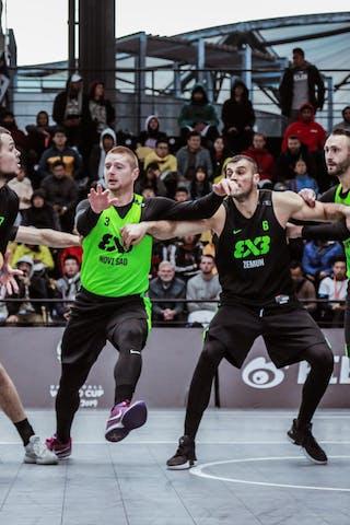 6 Nikola Vukovic (SRB) - 3 Bogdan Dragovic (SRB) - 6 Dusan Bulut (SRB) - 4 Dejan Majstorovic (SRB) - 3 Marko Savić (SRB)