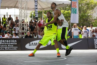 Barceloneta vs Montreal at the San Juan Masters 10-11 August 2013 FIBA 3x3 World Tour, San Juan, Puerto Rico