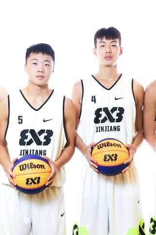 6 Haofeng Rong (CHN) - 7 Chunnan Yuan (CHN) - 5 Yanru Tao (CHN) - 4 Jinting Liu (CHN)