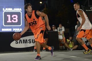 #4 Ljubljana (Slovenia) 2013 FIBA 3x3 World Tour Masters in Prague