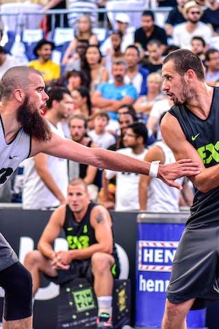 4 Charles Bronchard (FRA) - 4 Igor 'shogli' Todorovic (SLO) - Maribor v Paris, 2016 WT Lausanne, Pool, 26 August 2016