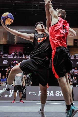 3 Zhang Jingli (CHN) - 3 Michael Linklater (CAN)