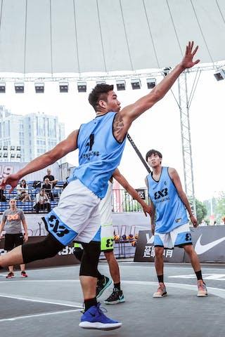 5 Xiaoheng Liu (CHN) - 4 Dongyang Feng (CHN)