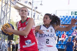 5 Darya Mahalias (BLR) - 2 Raelin Marie D'alie (ITA)