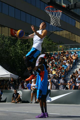 FIBA 3x3 World Tour Saskatoon 2017 dunk contest - Sherman Su