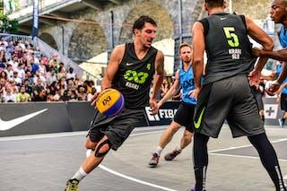 4 Michael Hicks (POL) - 3 Piotr Renkiel (POL) - 4 Jaka Hladnik (SLO) - 5 Mensud Julević (SLO) - Kranj v Gdansk, 2016 WT Lausanne, Last 8, 27 August 2016