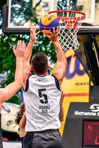 4 марко Stojadinovic (SRB) - 5 Mensud Julević (SLO) - Kranj v Obrenovac, 2016 WT Lausanne, Pool, 26 August 2016
