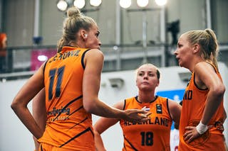 3 Loyce Bettonvil (NED) - 18 Fleur Kuijt (NED) - 11 Jill Bettonvil (NED) - Game5_Pool B_Japan vs Netherlands
