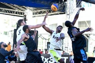 7 Marcel Esonwune (USA) - 4 Kareem Maddox (USA) - 3 Dan Mavraides (USA)