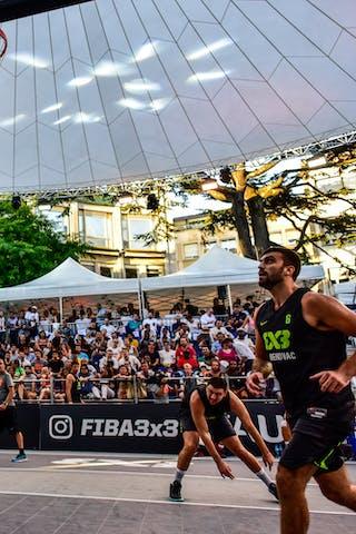 3 Filip Simic (SRB) - 5 Dusan Sisic (SRB) - 2 Gionata Zampolli (ITA) - 6 Vladimir Bulatovic (SRB) - 5 Damiano Verri (ITA) - Pavia v Obrenovac, 2016 WT Lausanne, Pool, 26 August 2016